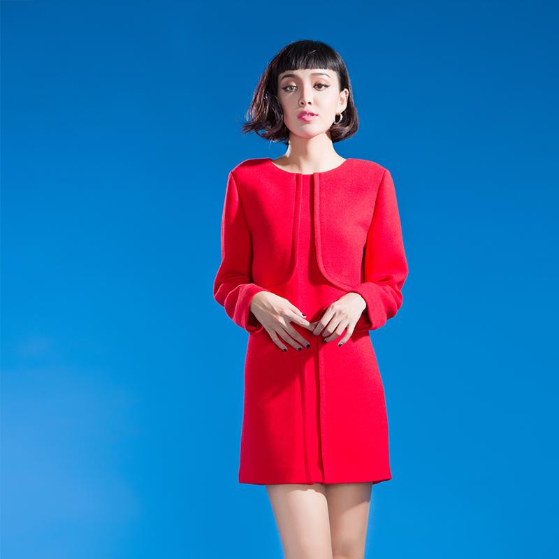 YCDL10-518 立体分割H型连衣裙