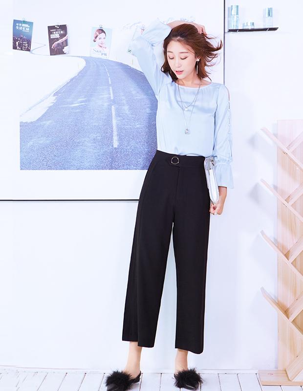 【伊霓裳】YNS75 宫廷荷叶袖套装