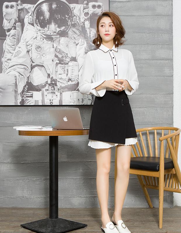 【伊霓裳】服装积分兑换 YCCQ-014-2 高冷气眼小A裙