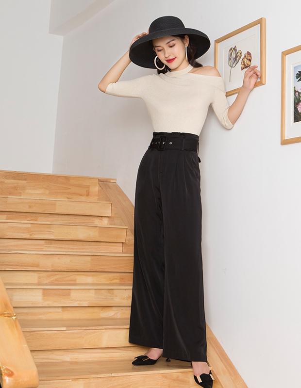 【伊霓裳】YNS123 初见倾心时尚套装(阔腿裤组合)