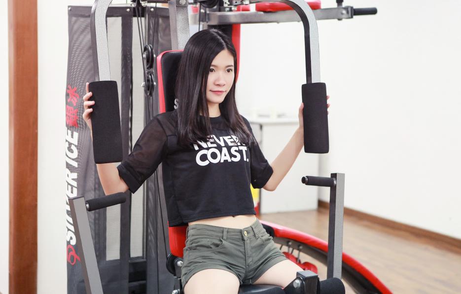 从健康的角度,小萍每天都会坚持健身半个小时,这也是她身材的小秘诀。