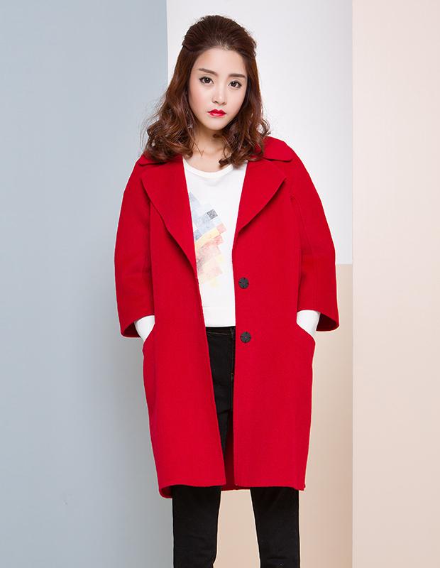 【特惠】 YCDW6-0010 汉服袖中长款大衣