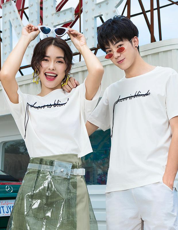 【伊霓裳】Y190855-1 熱戀狙擊T恤(女)