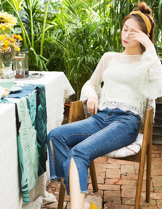 YNS71 小仙女蕾丝套装