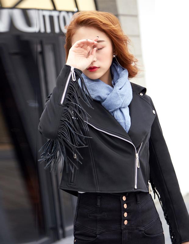 【伊霓裳】YNS81 帅气夹克套装