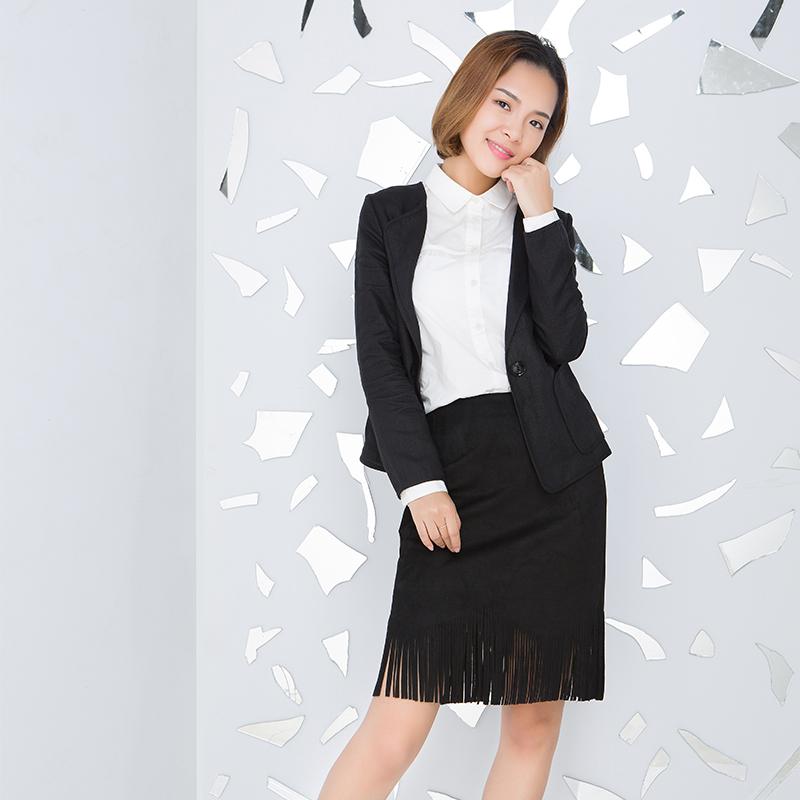 YCCW8-0027 时尚休闲翻领外套