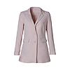 D190202-1  時尚修身斜紋西裝外套