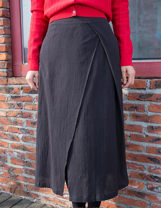 YCCW8-0008 时尚不对称半身裙