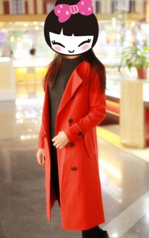 暖暖色调的大衣最喜欢