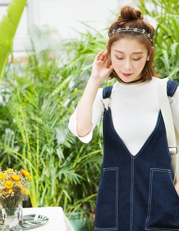 【伊霓裳】YNS70 清新减龄背带套装
