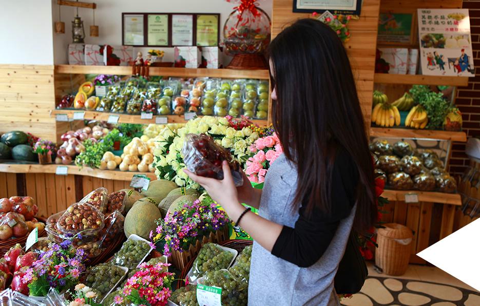 Miss上班时间的缘故很少能够去菜市场,想吃水果的时候只能去一些有保证的水果专卖店里面挑选。