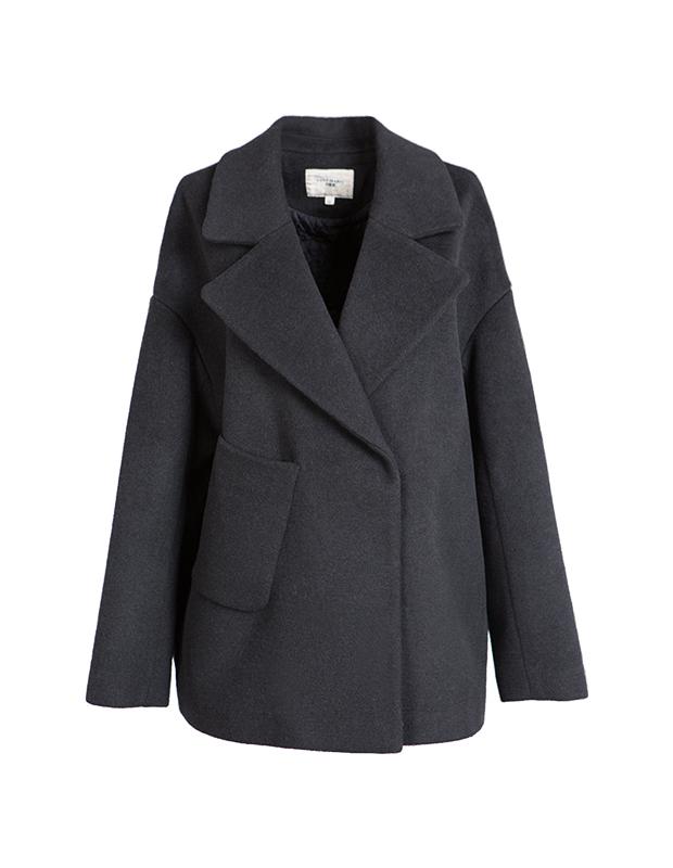 【伊霓裳】YCDL7-126 翻领落肩宽袖呢大衣