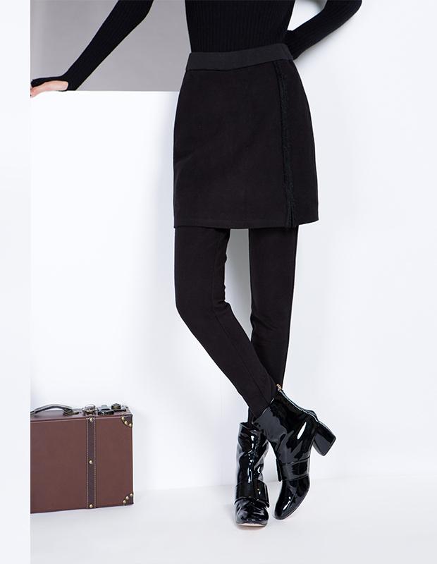 YCDL8-075 开叉假两件打底裤裙